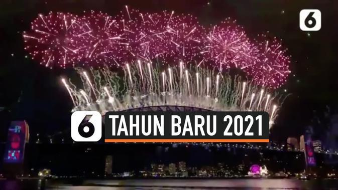 Video Spektakuler Pertunjukan Kembang Api Di Sydney Sambut Tahun Baru 2021 Global Liputan6 Com