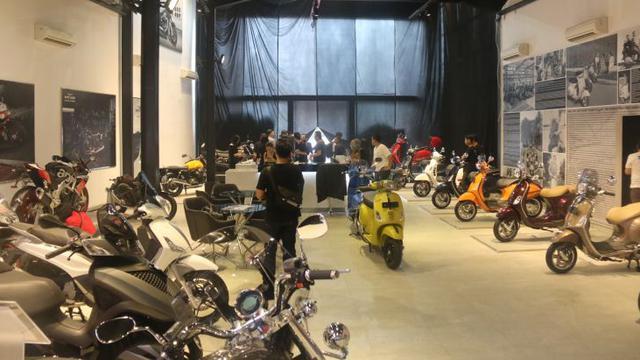 Dealer Premium Piaggio Group Berdiri Di Bintaro Otomotif Liputan6