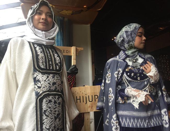Karya Vivi Zubedi yang akan dipamerkan dalam New York Fashion Week/copyright Vemale.com/Anisha