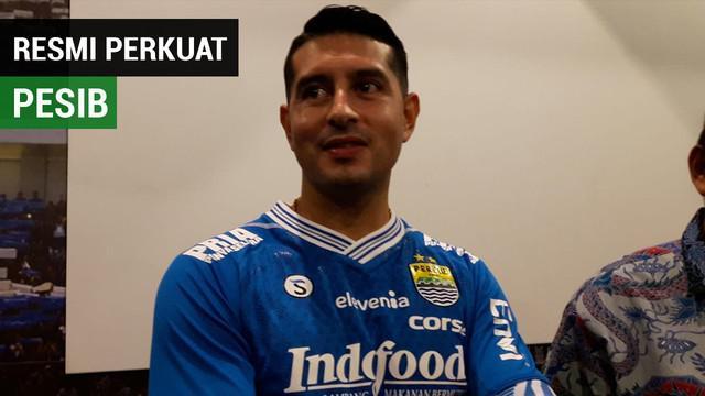 Berita video Persib Bandung memperkenalkan pemain baru mereka Esteban Viscarra di Graha Persib, Jalan Sulanjana, Bandung, Jumat (18/1/2019).