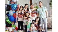 Kehebohan keluarga Raffi Ahmad di ulang tahun Rafathar [foto: instagram/nisyaa]