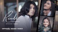 "Single debut Randa LIDA bertajuk ""Andai Saja"". (Sumber: YouTube/3D Entertainment)"