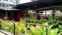 salah satu kedai kopi di Kota Padang. (Liputan6.com/ Novia Harlina)