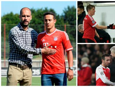Inilah 6 pemain yang jadi sentral filosofi permainan pelatih ternama Eropa. (AFP)