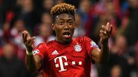 Bek Bayern Munchen asal Austria, David Alaba. (AFP/Lukas Barth)