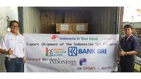 bekerja sama dengan Indonesia In Your Hand mengekspor puluhan jenis produk Usaha Mikro, Kecil dan Menengah (UMKM) ke Australia, Selandia Baru dan negara Pasifik Selatan lainnya.