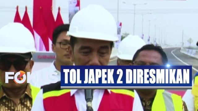 Sejak 2017 lalu, pembangunan jalan layang Tol Japek terus dikebut dan kini tol tersebut sudah bisa dioperasikan.