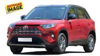 Penampakan Toyota Urban Cruiser yang berbasis Suzuki Vitara Brezza. (Autocar)
