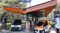 Toyota Manfaatkan Kendaraan Listrik di Bali (Ist)
