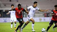 Penyerang tim nasional Thailand,  Sittichok Kannoo, berharap Indonesia mengalahkan Malaysia di semifinal SEA Games 2017. (Bernama Photo)