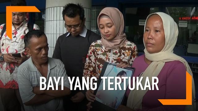 Orangtua protes kepada Rumah Sakit Dr Soetomo setelah bayinya diduga tertukar.