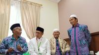 Menteri Agama Lukman Hakim Syaifuddin meninjau pemondokan Jemaah Haji di Makkah.Hilmi/MCH