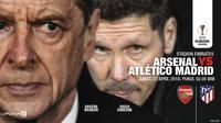 Arsenal vs Atletico Madrid (Liputan6.com/Abdillah)