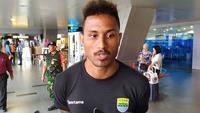 Penyerang Persib Bandung asal Brasil Wander Luiz. (Liputan6.com/Huyogo Simbolon)
