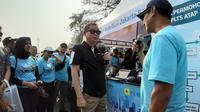 Menteri Jonan di Kampanye Penggunaan Listrik Surya Atap di Monas.