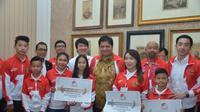 Tim wushu Indonesia. (Humas PB WI)