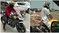 Potret Mainan Anak di Motor Ini Bikin Gagal Fokus (sumber:Instagram/awreceh.id)