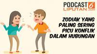 Podcast Zodiak yang sering picu konflik hubungan
