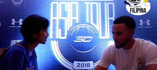 Berita video wawancara jurnalis Bola.com, Yus Mei Sawitri, dengan pemain NBA dari Golden State Warriors, Stephen Curry, di Manila, Filipina.