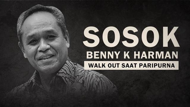 Siapakah sosok Benny K Harman ini? Simak ulasannya daim video berikut ini.