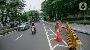FOTO: Ada Pembangunan Terowongan Silaturahmi Istiqlal - Katedral, Lalu Lintas Dialihkan