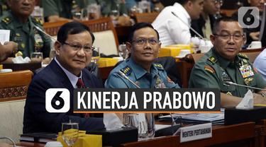 Menurut hasil survei Indo Barometer, Menhan Prabowo Subianto adalah menteri dengan kinerja baik di Kabinet Indonesia Maju.
