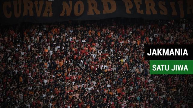 Berita video jakmania sambut kemenangan Persija Jakarta atas Sriwijaya FC dengan menyanyikan lagu satu jiwa dalam lanjutan Gojek Liga 1 2018 bersama Bukalapak di Cikarang, Sabtu (24/11/2018).