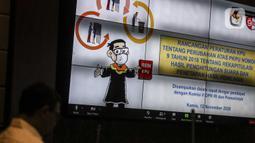 Suasana Rapat Dengar Pendapat (RDP) KPU dengan Komisi II DPR di Gedung Nusantara, Senayan, Jakarta, Kamis (12/11/2020). Rapat dihadiri Ketua Bawaslu Abhan dan Dirjen Otonomi Daerah Kemendagri Akmal Malik. (Liputan6.com/Johan Tallo)