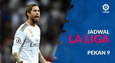 Berita video jadwal La Liga 2019-2020 pekan ke-9. Real Madrid bertandang ke markas Mallorca, Minggu (20/10/2019).