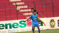PSIM Yogyakarta harus bersusah payah meraih kemenangan 1-0 atas Persegres Gresik di Stadion Sultan Agung, Bantul, Minggu (9/9/2018). (Bola.com/Ronald Seger Prabowo)