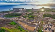 Tampak perkembangan pembuatan Sirkuit Jalan Raya Mandalika, Lombok. Foto ini diambil pada Januari 2021. (MGPA)