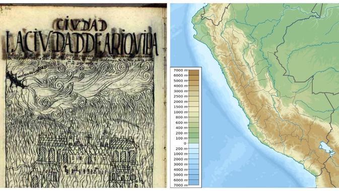 Gunung Huaynaputina pernah meletus dahsyat pada 1600 (Wikipedia)
