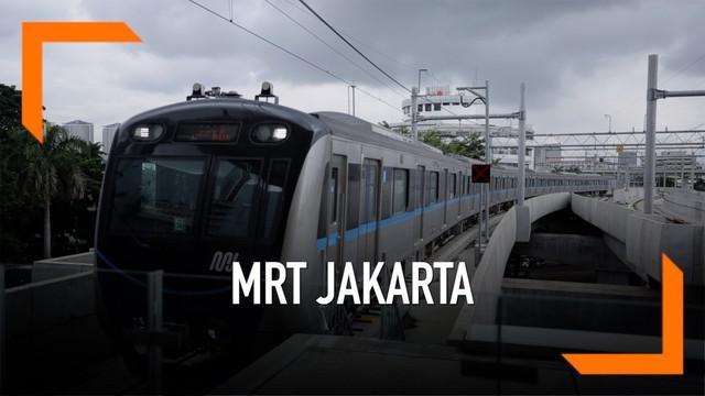 MRT Jakarta mulai diujicoba oleh publik. Bagi kamu yang belum tahu, catat 8 larangan ini saat naik MRT Jakarta.