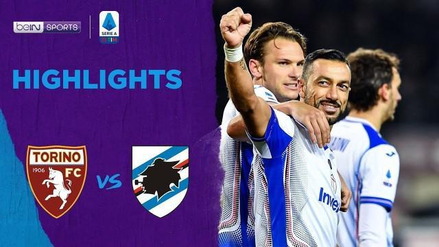 Berita Video Highlights Serie A, Torino Vs Sampdoria 1-3