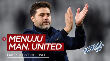 Berita video scroll up membahas Mauricio Pochettino yang dikabarkan akan melatih kembali klub Manchester United.