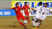 Duel Vietnam vs Timor Leste pada matchday kedua penyisihan Grup A Piala AFF U-16 2018 di Stadion Joko Samudro, Gresik, Selasa (31/7/2018).