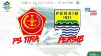 Liga 1 2018 PS Tira Vs Persib Bandung (Bola.com/Adreanus Titus)