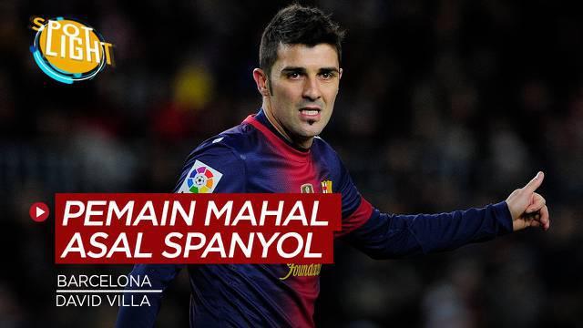 Berita video spotlight kali ini membahas tentang empat pemain Spanyol yang dibeli dengan harga tinggi.