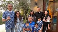 Liburan keluarga SBY (Sumber: Instagram/annisayudhoyono)