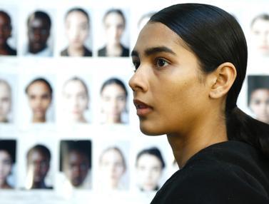 Persiapan Model-Model Cantik di Milan Fashion Week 2020