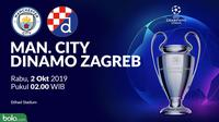 Liga Champions - Manchester City Vs Dinamo Zagreb (Bola.com/Adreanus Titus)