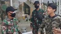 Viral pemuda mengaku saudara jenderal saat terjaring razia PPKM Darurat. Remaja berinisial RMB (21) itu kini ditangkap polisi. (Istimewa)