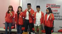 Pegiat media sosial Guntur Romli bergabung ke PSI (Liputan6.com/ Putu Merta Surya Putra)