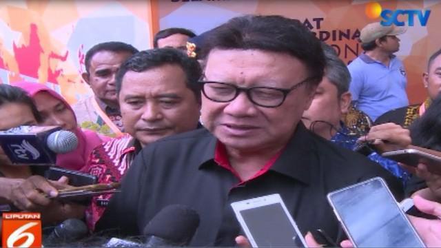 Ketua KPU Arief Budiman yang hadir dalam rapat tersebut menyampaikan bahwa KPU siap melaksanakan pemilu 2019.