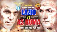 Lazio Vs Roma (Abdillah/liputan6.com)