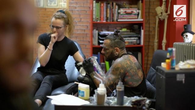 Seniman tato di Manchester meluncurkan kampanye The Manchester Tatto Appeal.