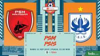 Shopee Liga 1 - PSM Makassar Vs PSIS Semarang (Bola.com/Adreanus Titus)