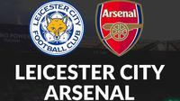 Carabao Cup - Leicester City Vs Arsenal (Bola.com/Adreanus Titus)