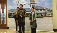 Presiden Jokowi bersama Ibu Negara Iriana bertolak ke Singapura. (Lizsa Egeham)