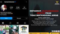 Akun Instagram BAZNAS Diretas